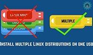 如何在一个 U 盘上安装多个 Linux 发行版